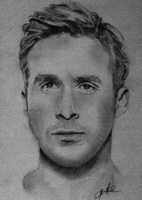 Ryan Gosling by JLM23